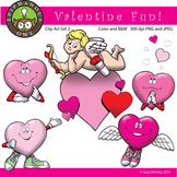 Valentine's Day Fun Clip Art Set 2