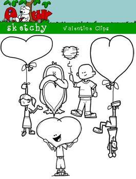 Valentine's Day Fun Clipart / Graphics