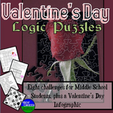 Valentine's Day Fun- Eight Logic Puzzles and Brain Teasers