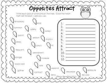 Valentine's Day Language Arts Activities