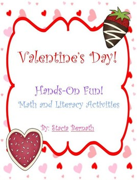 Valentine's Day Fun! Math and Literacy Activities  Mini Pack