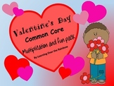 Valentine's Day Multiplication & Fun Pack
