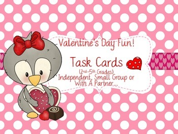 Valentine's Day Fun Task Cards
