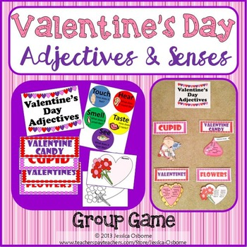 Adjectives Game: Valentine's Day