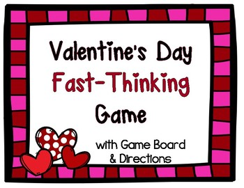 Valentine's Day Game: Scattergories for Grades 3-12