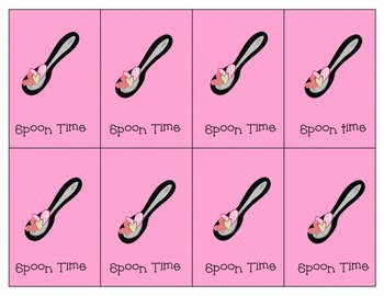 Valentine's Day Game - Spoon Time