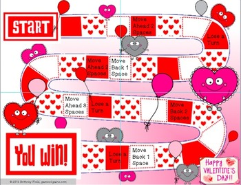 Valentine's Day Game: Customizable Valentine's Day Activity