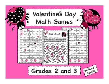 Valentine's Day Math- Even and Odd Games