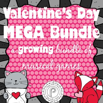 Valentine's Day Games Mega Bundle- a growing bundle!