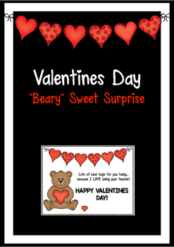Valentines Day Gift - Bear Hugs For You