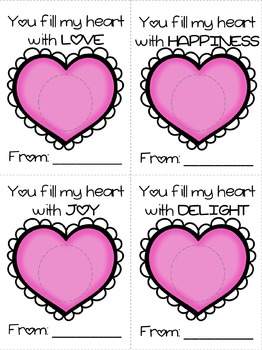 Valentine's Day Gift Printable