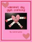 Valentine's Day Glyph Craftivity!