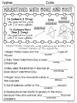 Valentine's Day Grammar Packet