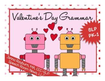 Valentine's Day Grammar Packet: Speech Therapy