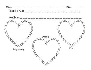 Valentine's Day Graphic Organizer