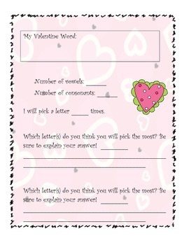Valentine's Day Graphing (CCSS Aligned)
