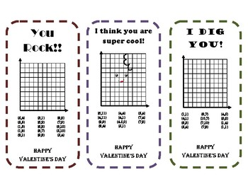 Valentine's Day Graphing Cards