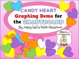 Candy Heart Graphing Demo for the Smartboard
