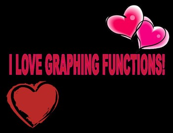 Valentines Day Graphing Functions