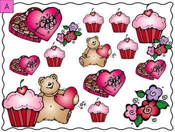 Valentine's Day Count & Graph