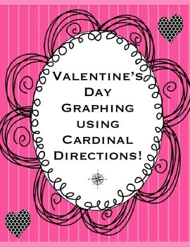 Valentine's Day Graphing with Cardinal and Intermediate Directions: Map Skills