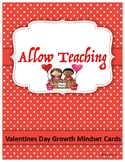 Valentines Day: Growth Mindset Coloring Cards