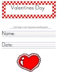 Valentines Day Handwriting Worksheets PALMER PRINT