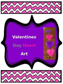 Valentines Day Heart Art