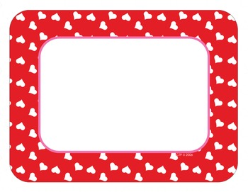 Valentine's Day Heart Cards Cut-Outs Bright Pink, Light Pink and Red
