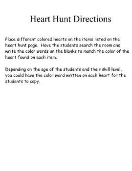 Valentine's Day Heart Hunt