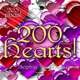 Valentines Day Hearts Clip Art Images - 200 of 'em!