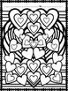 Valentine's Day:  Hearts Galore Coloring Sheets