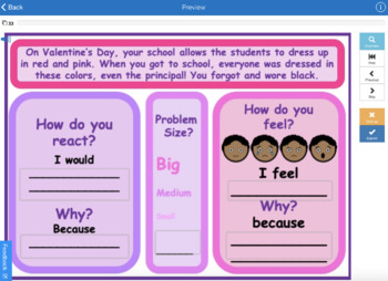 Valentines Day Social Pragmatic Language Skills Speech Therapy (30 task cards!)