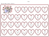 Valentine's Day, Holiday, Letters, Numbers, Tracing, Morning Bell Work