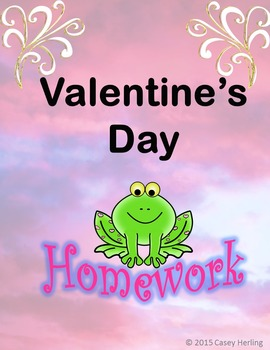 Valentine's Day Homework
