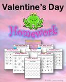Valentine's Day Homework