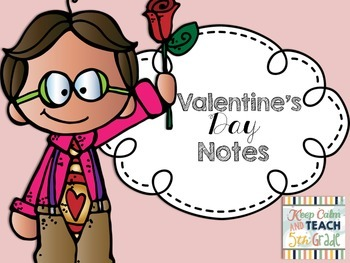 Valentine's Day Homework Passes & Staff Thank You Notes