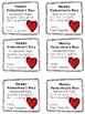 Valentine's Day Homework Passes from Teacher