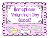 Valentine's Day Homophone Scoot Activity for 4th Grade