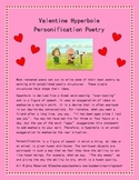 Valentine's Day Hyperbole Personification Poem: Seasonal Poetry