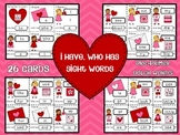 Valentine's Day I Have, Who Has Card Game - Sight Words