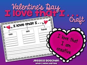 Valentine's Day :: I love that I . . . Craft
