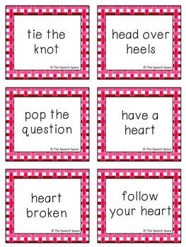 Valentine's Day Idiom Bundle - Common Core Aligned