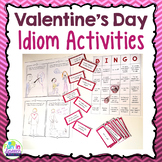 Valentine's Day Idioms Activity Pack - Speech Therapy Activities