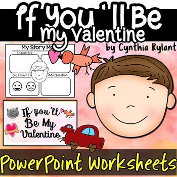 If You'll Be My valentine Cynthia Rylant Valentines Day