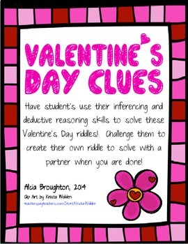 Valentine's Day Inference Clues