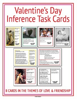 Valentines Day Inference Task Cards