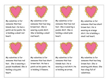 Valentine's Day Inferences-Freebie