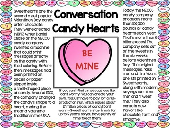 Valentine's Day Informational Text Posters and Coloring Book