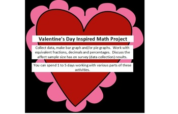 Valentine's Day Inspired Math Project